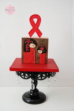 UNSA - Team Red Collaboration  - Cake by funni