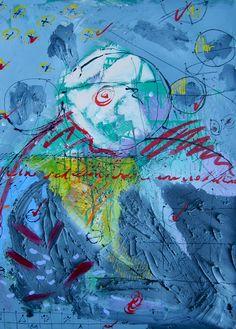 "Phantom Culture - Artist: Xerado - Title: Redline - Media: Acrylic on canvas - Size: 24"" w x 30"" h = 61 cm x 76.2 cm"