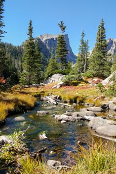 Hike to Dream Lake, Rocky Mountain National Park, Colorado