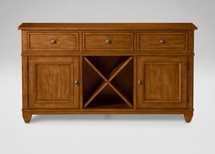 """(CURRENT CHOICE. Comes in java and carbon) Gregory Console 57.5""""w x 31.25""""h x 17.25""""d $1156.11"""