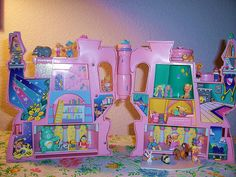 Pink Starcastle Inside - Polly Pocket