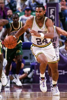 Jeff Malone, who played for the Utah Jazz from 1990 to 1994.