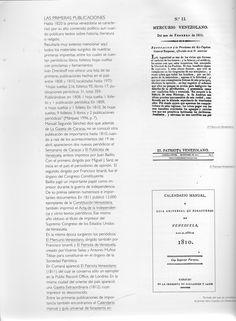 (7) El Mercurio Venezolano / El Patriota Venezolano / Portada del que se considera el primer libro impreso en Venezuela