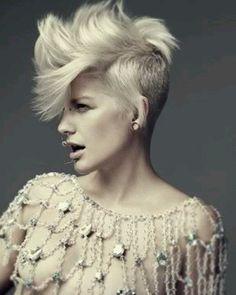 Love her hair cut...