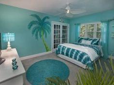 Teen beach room on pinterest surfer girl bedrooms beach for Beach bedroom ideas for teenage girls