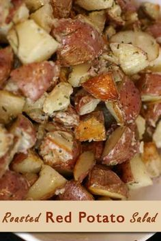 Roasted Red Potato Salad | 5DollarDinners.com