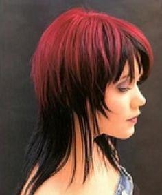 coupe cheveux mi long excentrique - Recherche Google