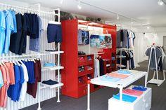 Orlebar Brown store design for Wimbledon village and Royal Exchange by TRC. June 2016. #orlebarbrown #retail #design #storeplanning #visualisation #visualmerchandising #vm #3d
