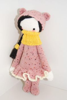 Bina the bear modified by Katarzyna R./ basic crochet pattern by lalylala