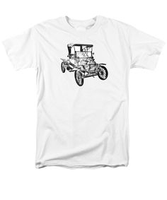 75 best classic and muscle car t shirts images classic derby 70 S Chrysler 300 1914 model t ford antique car illustration t shirt for sale by keith webber jr