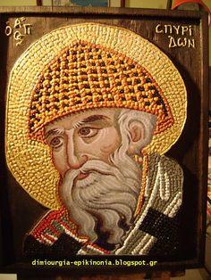 Δημιουργία - Επικοινωνία: Ο Άγιος Σπυρίδων ο Θαυματουργός, Επίσκοπος  Τριμυθ...