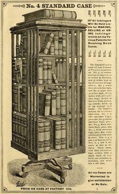 Illustrated & Descriptive Circular of Danner's Revolving Book Cases, John Danner, 1880