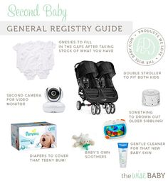 Second Baby Registry Guide