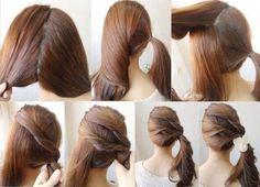 Hairstyle Un lindo tutorial de un hermoso peinado y muy sencillo de hacer