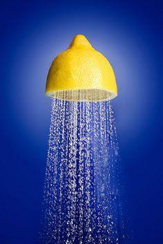 art direction | lemon shower head