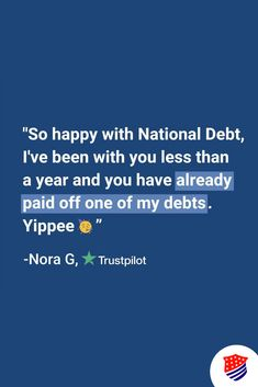 In a time that poses many challenges for Americans, we are proud to offer solutions. Like Nora, you ,too, could be on the road to becoming #debtfree. Find out today if you qualify for debt relief! National Debt Relief, Debt Consolidation, Debt Free, Challenges, How To Apply, Poses, Figure Poses
