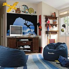 cool bedroom ideas for pre-teen boy | ... Room Design Ideas Show Well Expressed Teenage Bedroom Decor for Two