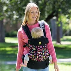 5fafe398ab6 Lillebaby Complete 6-in-1 Baby Carrier - All Seasons (Black w