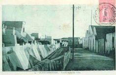 Olhão Antigo - Hoje Rua do Caminho de Ferro