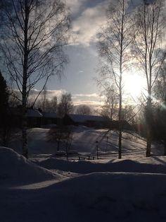 Nordanå i vintersol