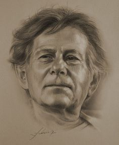 Roman Polanski….Pencil art by Dumage
