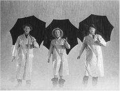 Singin' In The Rain' is a classic comedy musical made in directed by Gene Kelly and Stanley Donen, and starring Gene Kelly, Debbie Reynolds. Singin In The Rain, Dancing In The Rain, Gene Kelly, Fred Astaire, Classic Comedies, Classic Movies, Famous Movies, Old Movies, Vintage Hollywood