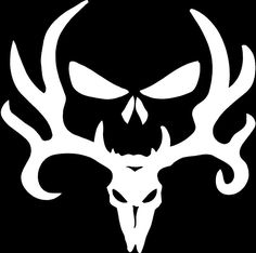 Deer Skull And Antlers Sticker Google Search Silhouette Cameo - Back window stickers for trucksamazoncom ragnar lothbrok vikings rear window decal graphic
