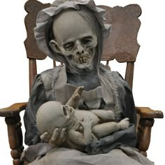 creepy halloween decorations pinterest - Google Search