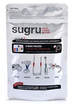 Sugru - Silicone rubber that molds and sticks.