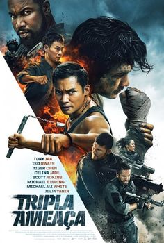 Triple Threat is an 2019 martial arts film starring Tony Jaa, Iko Uwais and Tiger Chen, as well as Scott Adkins, Michael Jai White, and Michael Bisping. Michael Jai White, Action Movies, Sci Fi Movies, Hd Movies, Movies Online, Movie Tv, Foreign Movies, Watch Movies, Tony Jaa