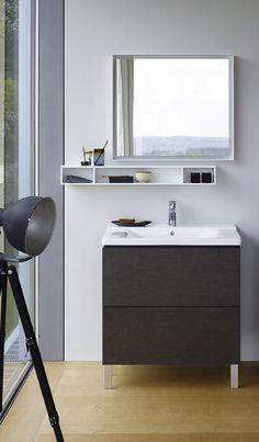 Duravit: Creative Storage For a Modern Bathroom Contemporary Bathrooms, Modern Bathroom, Small Bathroom, Bathroom Ideas, Houzz Bathroom, Cube Furniture, Bathroom Furniture Design, Tub Tile, Bad Inspiration