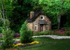 images of cottage homes | Cottage-in-forrest-house-hansel-and-Gretel