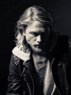 Charlie Hunnam- this is my favorite because i love how the light is just one the left and it makes the photo seem much more deep and thoughtful because of it.