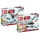 LEGO Star Wars 8083 Rebel Trooper Battle Pack und 8084 Snowtrooper Battle Pack