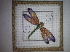 Dramatic Dragonfly by MayDayStitchworks on Etsy, $10.00