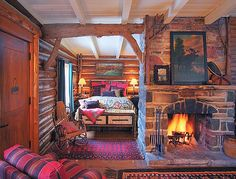 Love this!! Interior living room and bedroom inspiration. Love the area rugs!