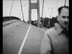 Tacoma Bridge Collapse - YouTube | Tacoma Narrows Bridge (Tacoma, Washington), collapses in 1940. The only casualty was a dog, left inside a stalled car.