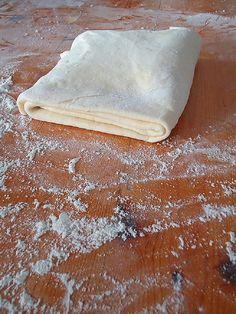 слоеное тесто готово