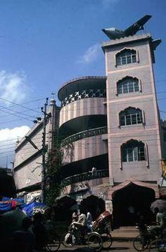 Aeroplane Mosque in Dhaka, Bangladesh.