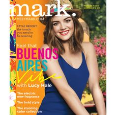 mark. Brand Ambassador @lucyyhale introducing our Buenos Aires Vibe #InstantVacation Collection!
