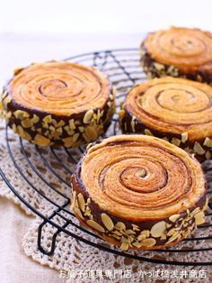 Stump Danish bread by Kappahashi Asai store 【Cook pad】 Easy delicious delicious recipes for everyone million items Mini Desserts, Chocolate Desserts, No Bake Desserts, Dessert Recipes, Savory Donuts Recipe, Donut Recipes, Bakery Kitchen, Bakery Menu, Danish Food