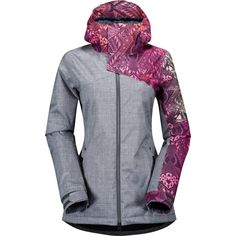 Stay warm and stylish in the Volcom Flint Insulated Jacket Snowboarding Outfit, Athletic Outfits, Athletic Clothes, Latest T Shirt, Stylish Outfits, Jackets For Women, My Style, Fashion Design, Ski Holidays