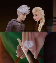 ((Elsa invites jack to a ball at the palace, Elsa, Anna, Olaf, Kristoff needed)) Jelsa, Jack Frost Und Elsa, Jack And Elsa, Elsa Frozen, Disney Frozen, Princess Luna, Disney Princess, Sailor Princess, Movie Hacks