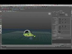 Maya 2011 Create and Control a Particle Swarm Tutorial by Stuart Christensen
