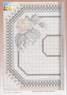 Rose Doily 4 of 8 Hardanger Embroidery, Cross Stitch Embroidery, Embroidery Patterns, Cross Stitch Patterns, Cross Stitch Rose, Cross Stitch Flowers, Drawn Thread, Chicken Scratch, Bargello