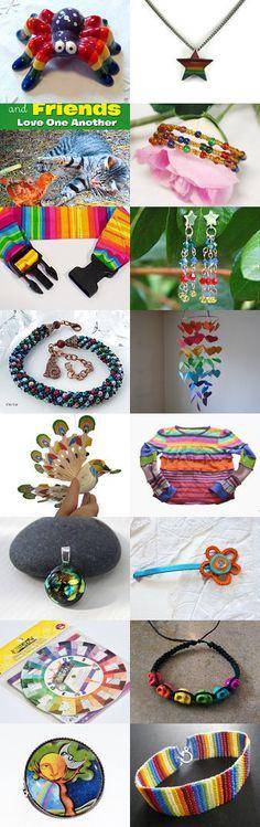 Rainbow of Gratitude by Nancy on Etsy--Pinned+with+TreasuryPin.com