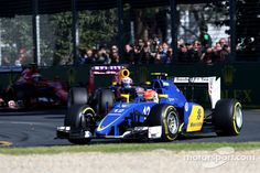 Felipe Nasr, Sauber F1 Team finished 5th in his debut and secured 10 points for Sauber!