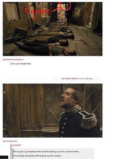 Javert. Enjolras. Dead.