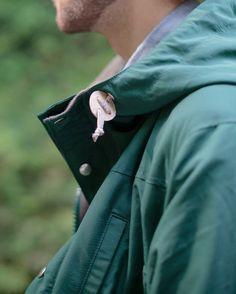 green hipster jacket