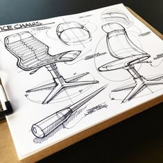 Each day, I pull out a fresh sheet of paper and practice the fundamentals of sketching in an effort to develop my skills and ultimately, effectively communicate my ideas.